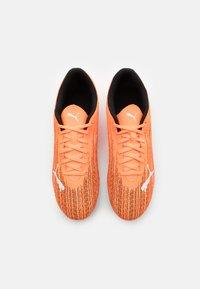 Puma - ULTRA 4.1 MXSG - Screw-in stud football boots - shocking orange/black - 3