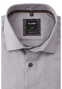OLYMP - MODERN FIT LANGARM HAIFISCHKRAGEN  - Formal shirt - grau - 1