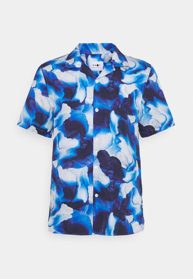 MIYAGI - Camicia - blue print