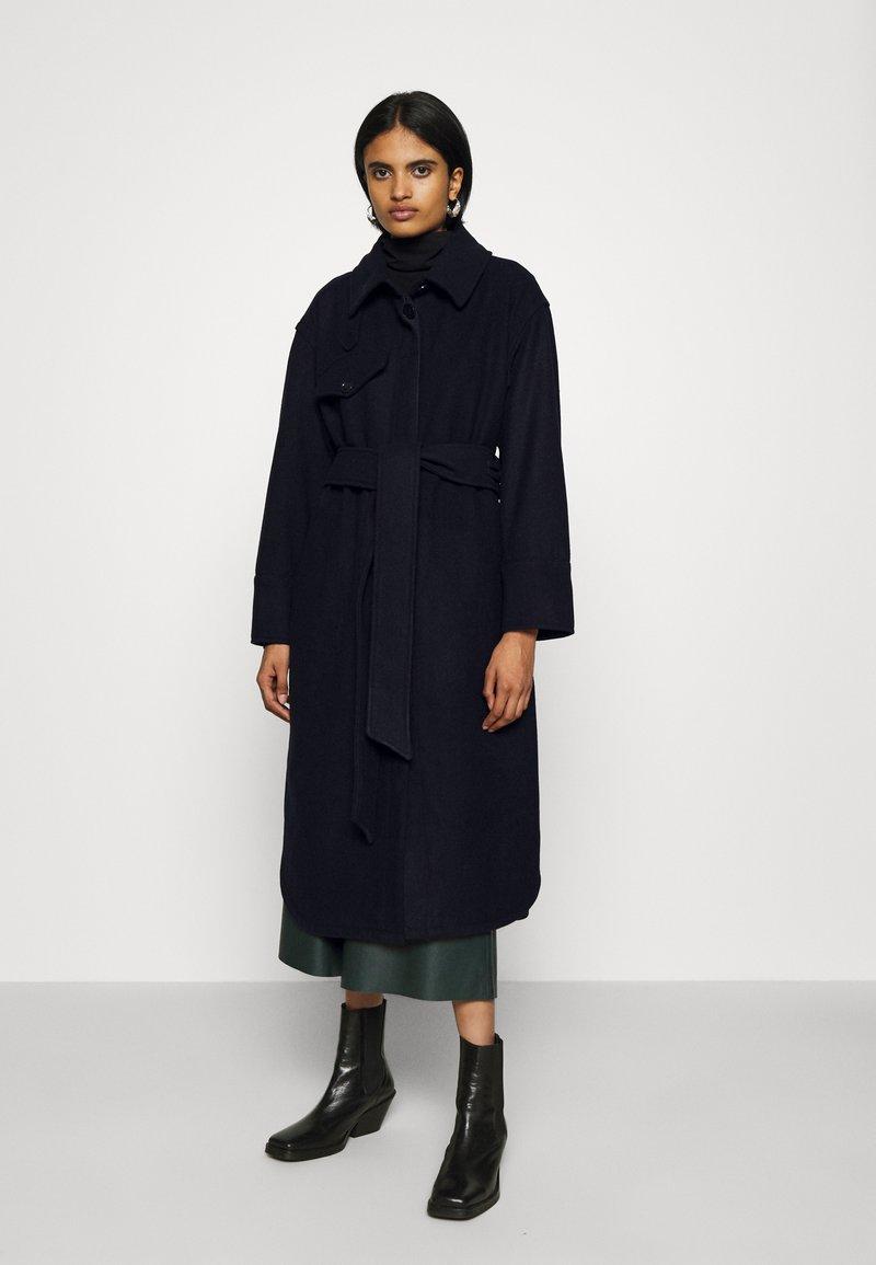 Weekday - BOEL COAT - Classic coat - navy