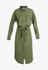Moss Copenhagen - ROSANNA DRESS - Blusenkleid - lichen green - 5