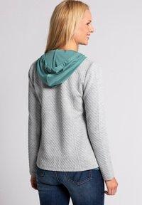 GINA LAURA - Zip-up hoodie - hellgrau-melange - 1