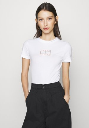 SHORTSLEEVE LOGO BODYSUIT - Body - white