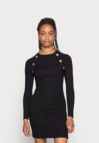Morgan - RMTOUL - Jumper dress - noir - 0