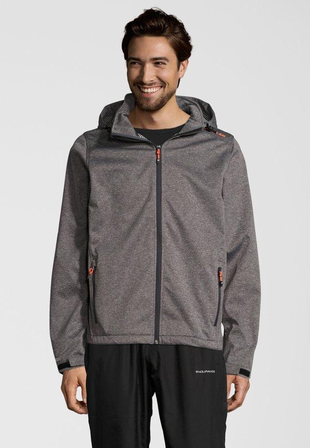 PADUA - Soft shell jacket - frost grey