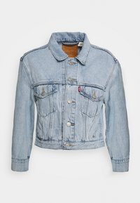 Levi's® - LOOSE SLEEVE TRUCKER - Jeansjacka - light blue denim - 4