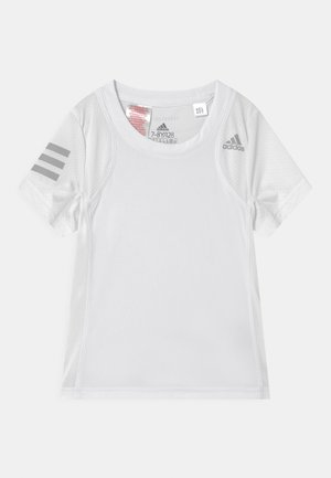CLUB UNISEX - T-shirt imprimé - white/grey