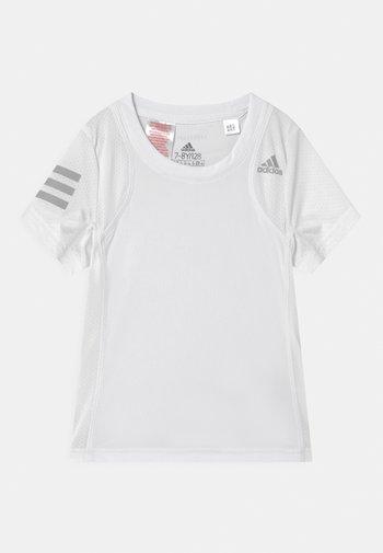 CLUB UNISEX - Print T-shirt - white/grey