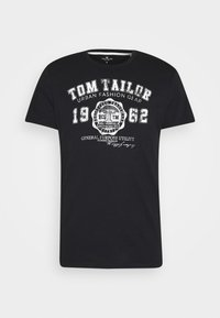 LOGO TEE - Print T-shirt - almost black
