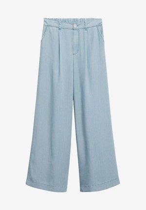 Flared jeans - azul medio
