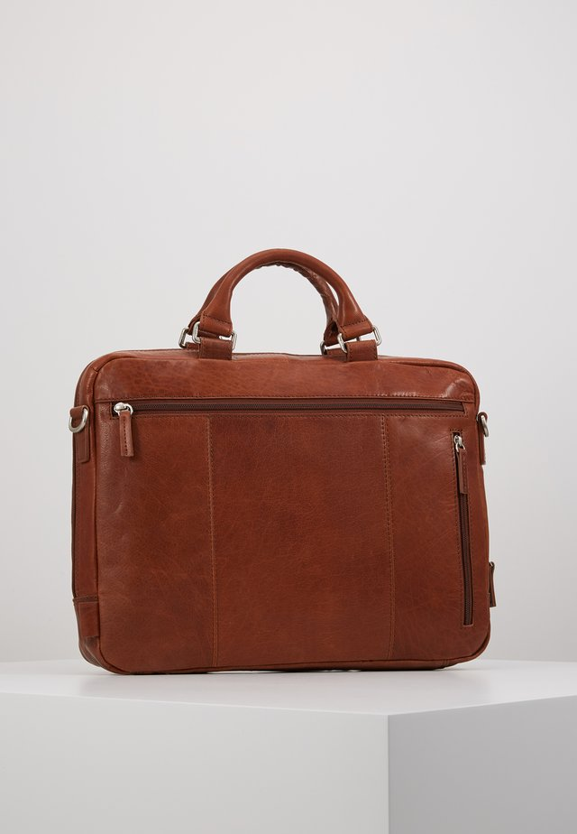 MALMÖ BUSINESS BAG - Salkku - cognac