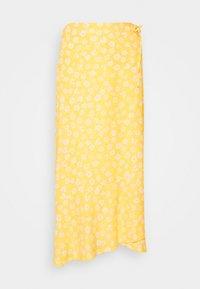 Monki - LANE SKIRT - Maxi sukně - yellow - 3