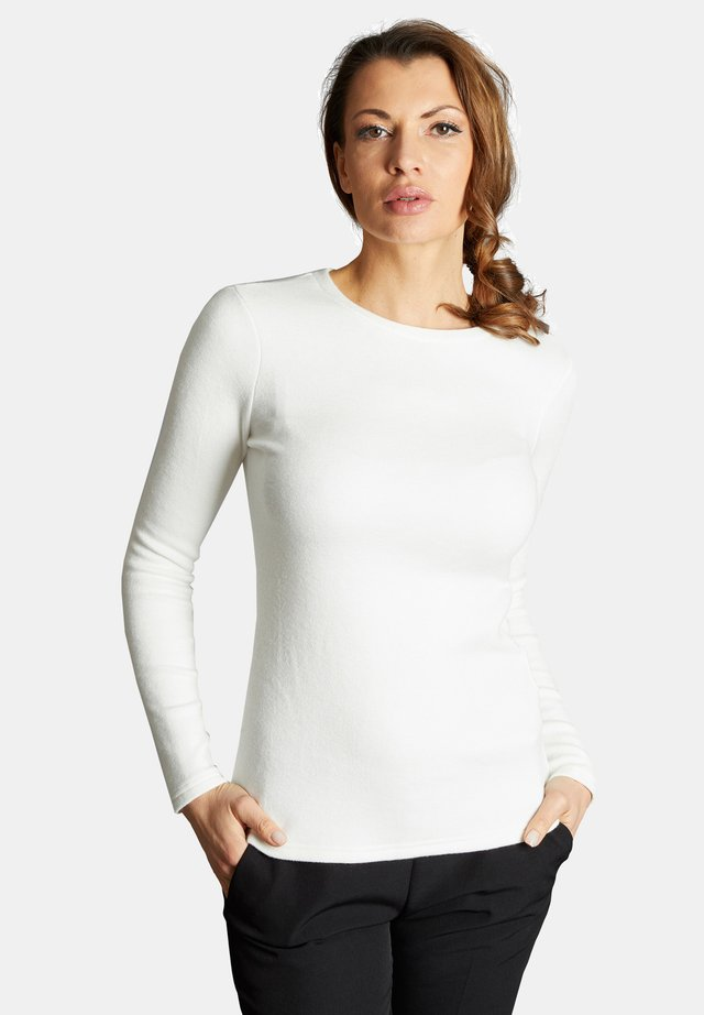 BASINA - Jumper - white