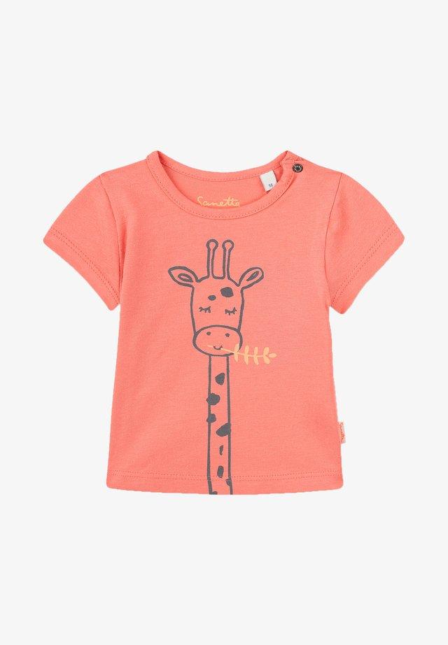 T-shirt print - pink