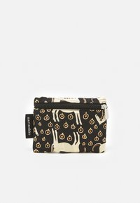 Marimekko - SMARTSACK MUSTA TAMMA BAG - Across body bag - black/beige/orange - 3