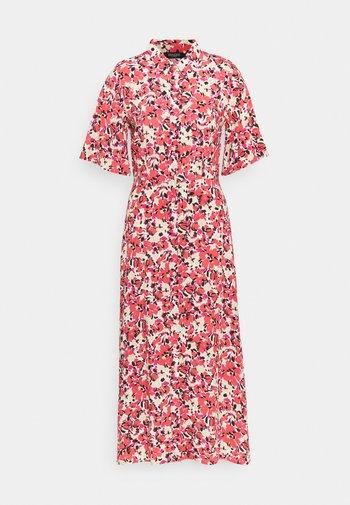SLINDIANA RAFINA  - Shirt dress - multifloral cardinal