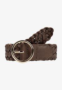 HALLHUBER - Braided belt - noisette - 1