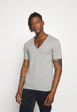 QUENTIN - T-shirt - bas - grey