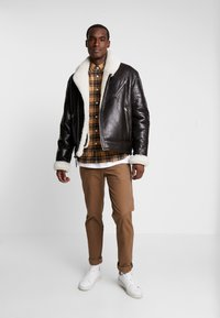 Schott - LCHAMPTON - Leather jacket - brown - 1