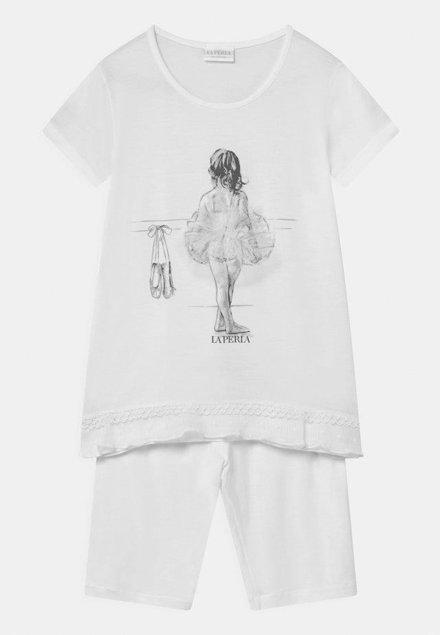 SHORT SLEEVE  - Pyjama - panna