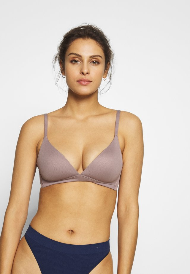 ELEMENTS - Triangle bra - taupe