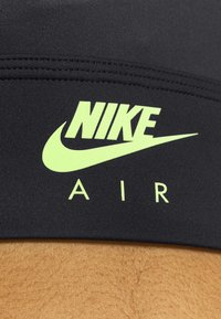 Nike Performance - AIR BRA  - Sport BH - black/volt - 5