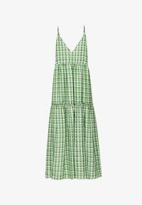 Uterqüe - Maxi dress - green - 5