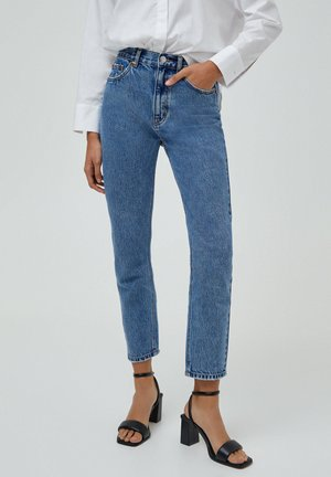BASIC - Relaxed fit jeans - light blue