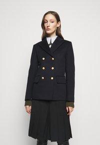 Victoria Beckham - DOUBLE BREASTED PEA COAT - Blazer - navy - 0