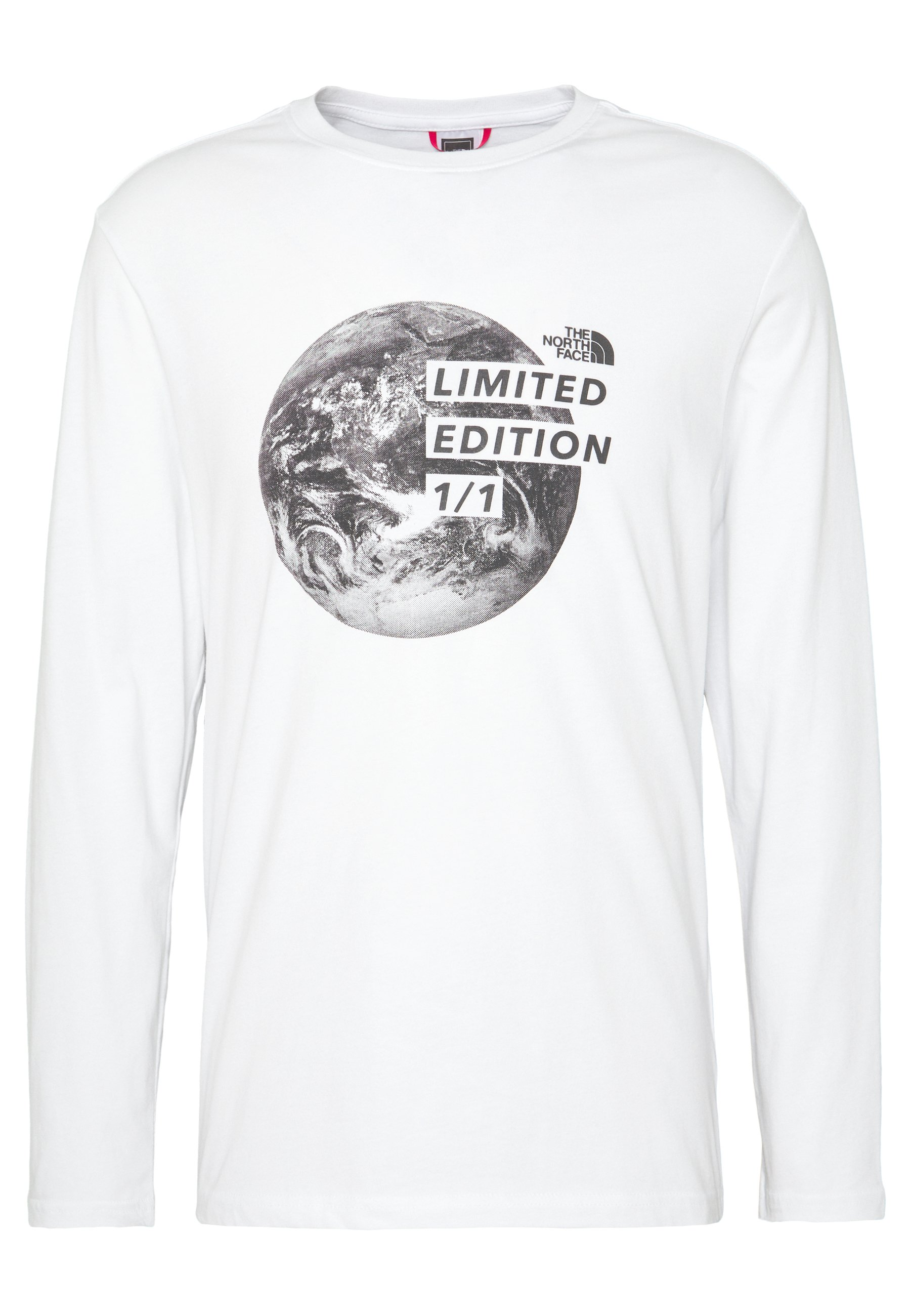 The North Face MENS GRAPHIC TEE - Topper langermet - white/black