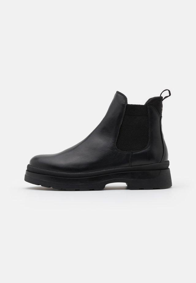 WINDPEAK CHELSEA - Platform ankle boots - black