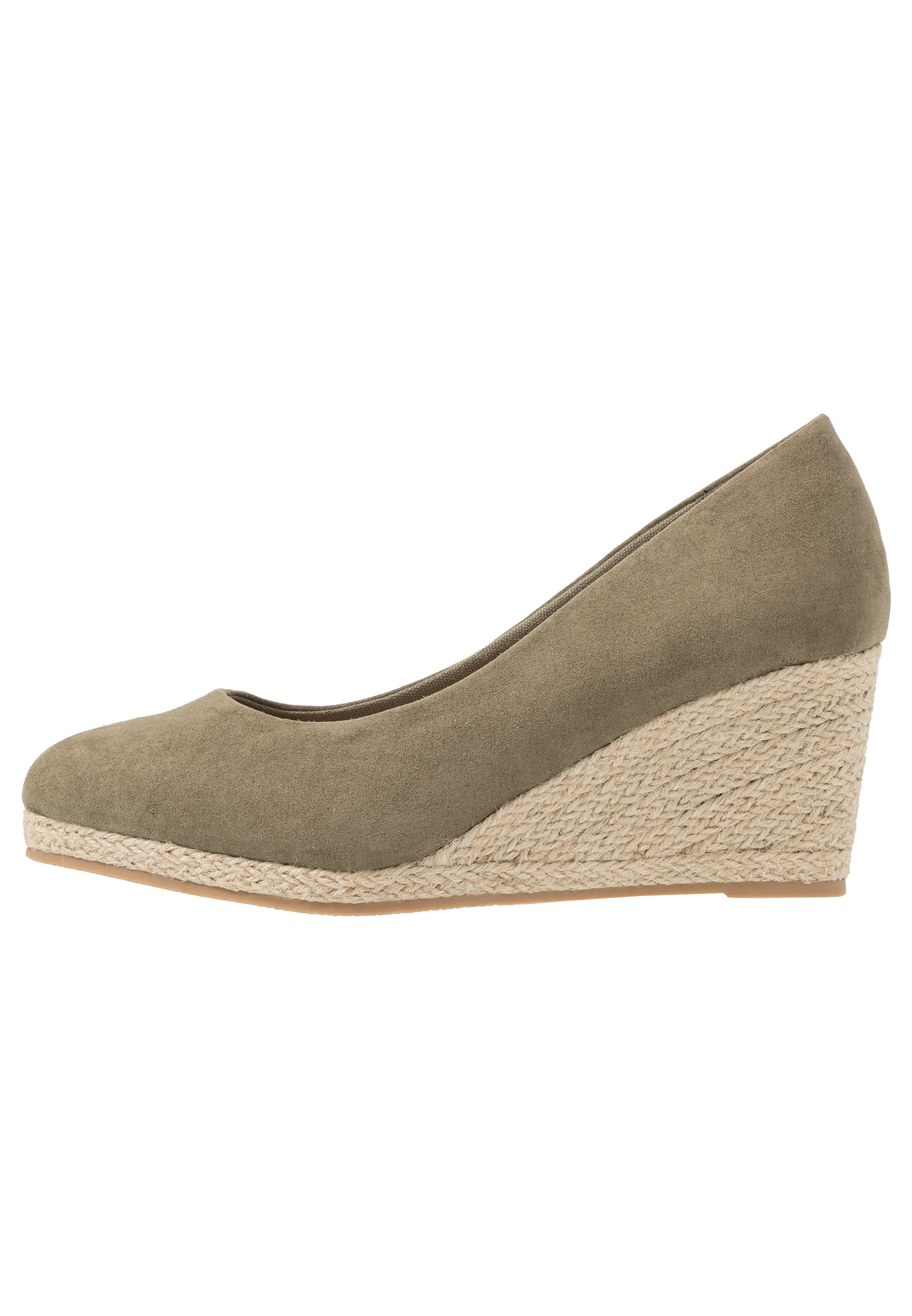Evans WIDE FIT CLOSED TOE WEDGE