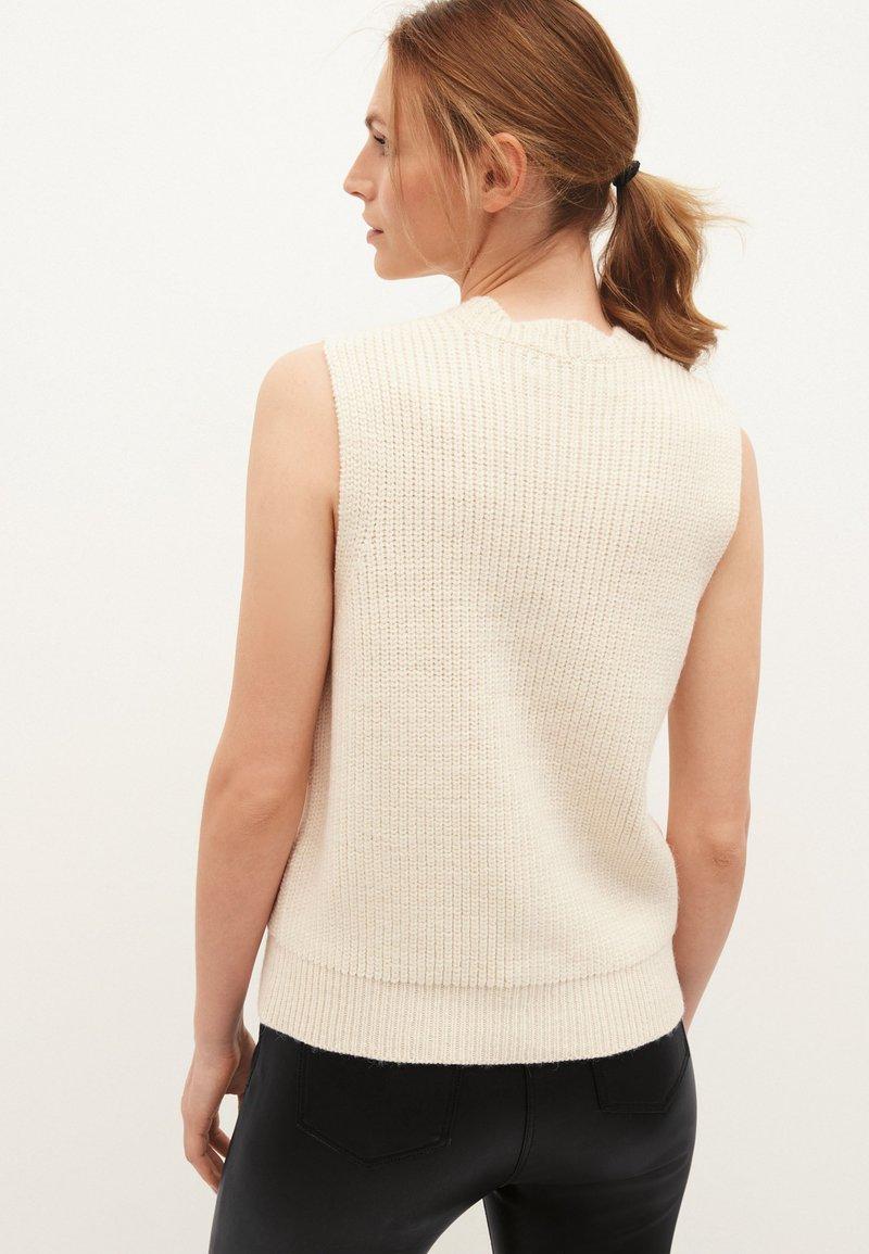 Next - Waistcoat - off-white