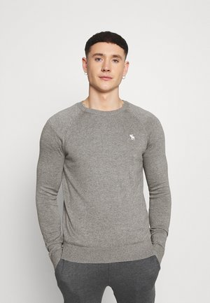 CORE ICON CREW - Jersey de punto - grey