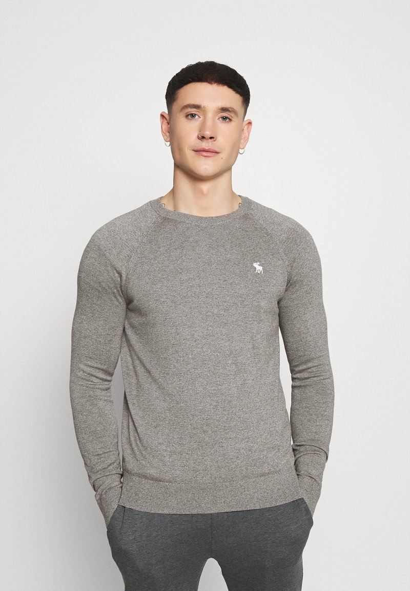 Abercrombie & Fitch - CORE ICON CREW - Jumper - grey