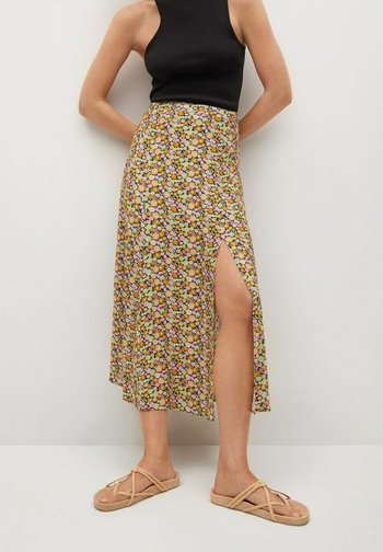 PECA - A-line skirt - multi coloured