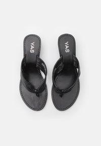 YAS - YASSALLI WEDGE - Varvassandaalit - black - 4