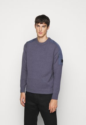 CREW NECK - Jumper - ombre blue