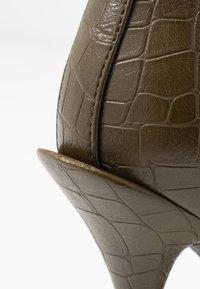 BEBO - LEGACY - High heeled ankle boots - khaki - 2