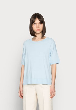 SLFWILLE  - Jednoduché triko - cashmere blue