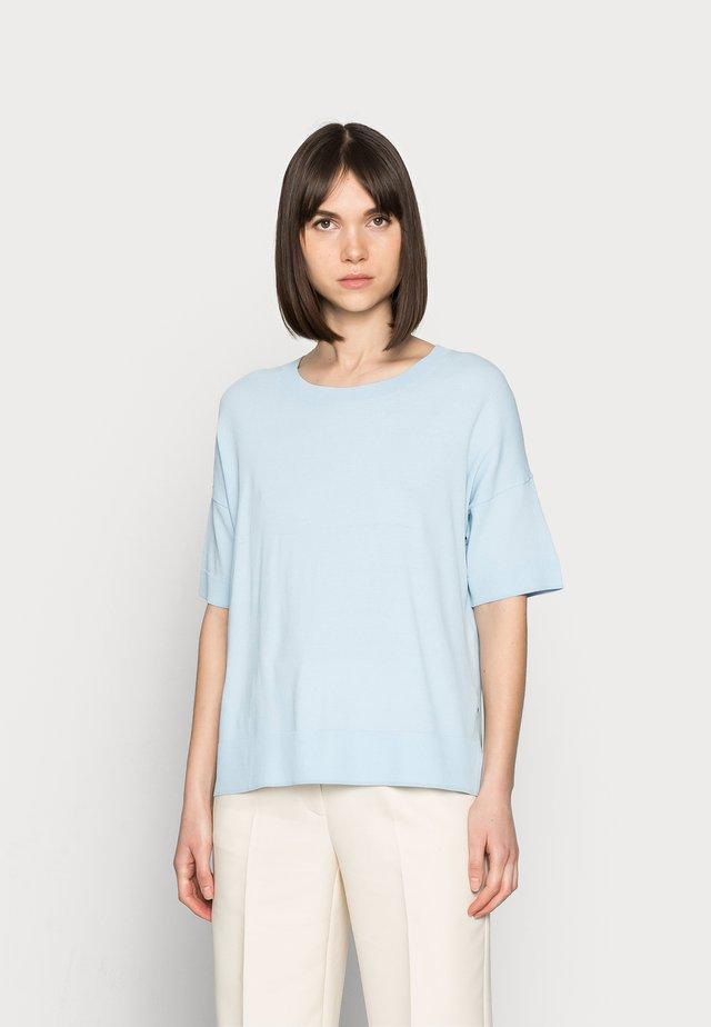 SLFWILLE  - T-shirts basic - cashmere blue