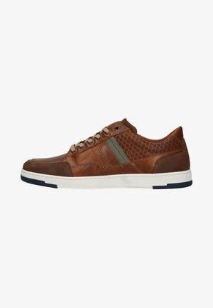 Trainers - cognac/brown