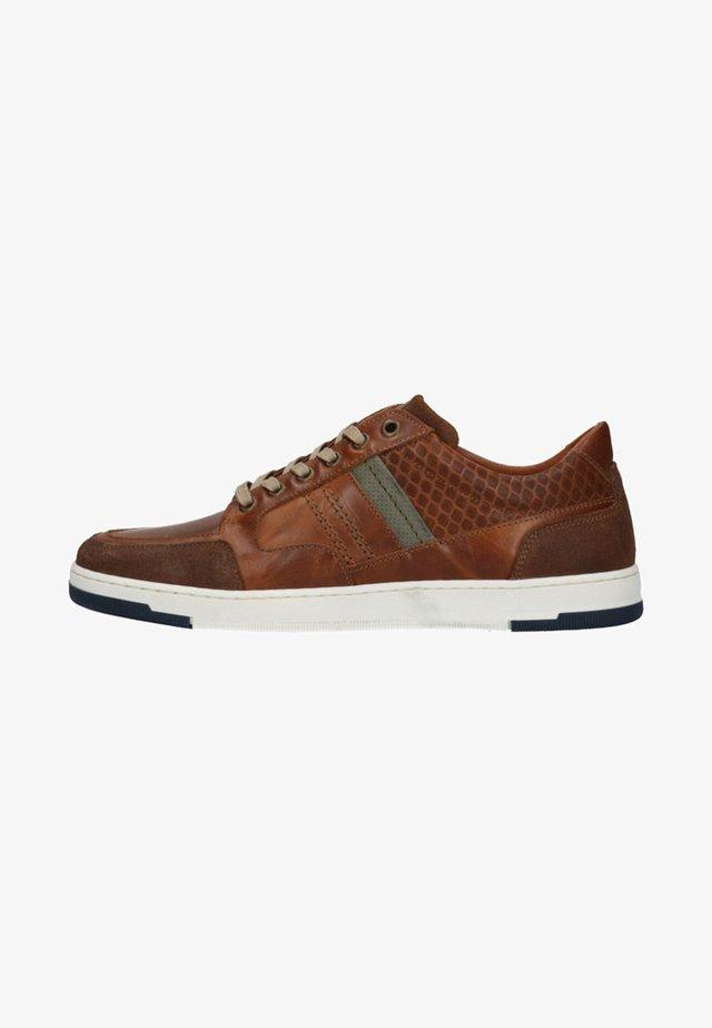 Sneakers laag - cognac/brown
