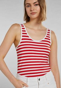 Oui - Top - white red - 4