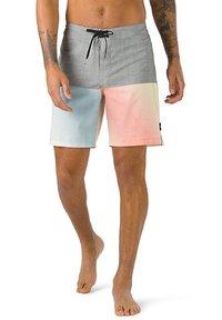 Vans - MN HALFSIES BOARDSHORT - Shorts - pewter/gradient - 0