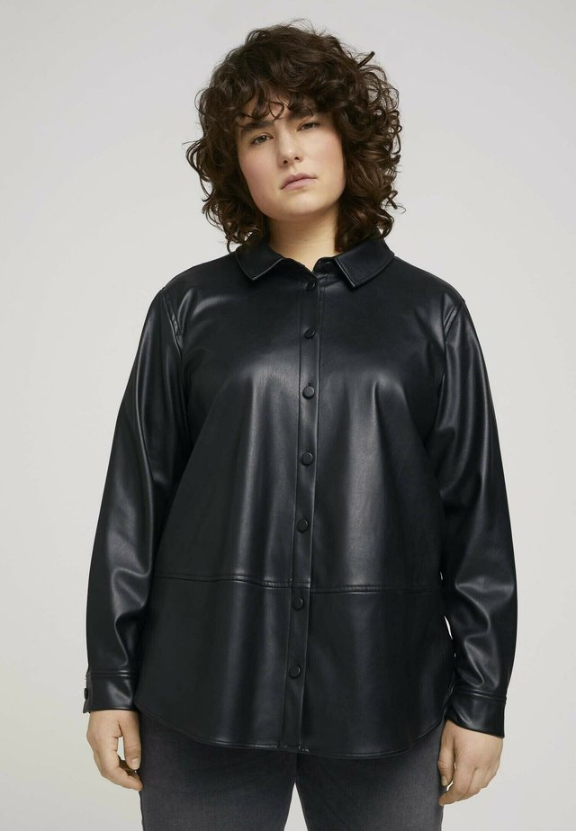 Overhemdblouse - deep black
