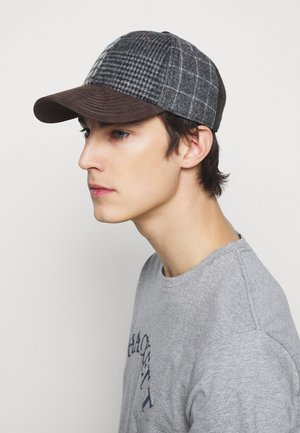 PATCHWORK - Cap - grey/multi