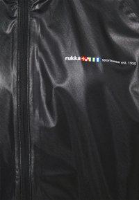 Rukka - RUKKA MALKO - Vodotěsná bunda - black - 4