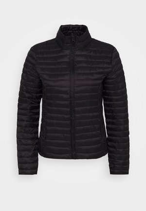 JDYNEWMADDY PADDED JACKET - Lehká bunda - black