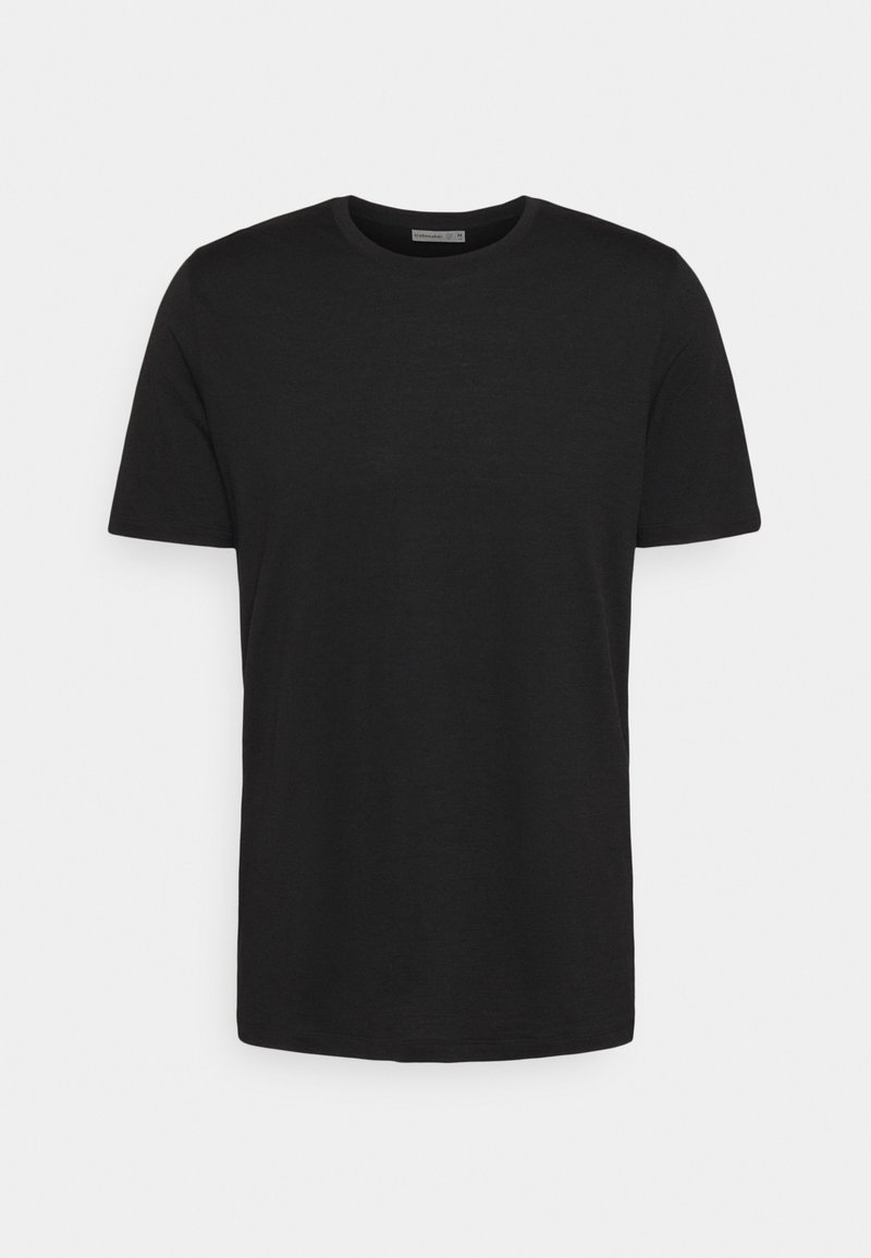 Icebreaker - TECH LITE CREWE FOREVER - T-shirt imprimé - black
